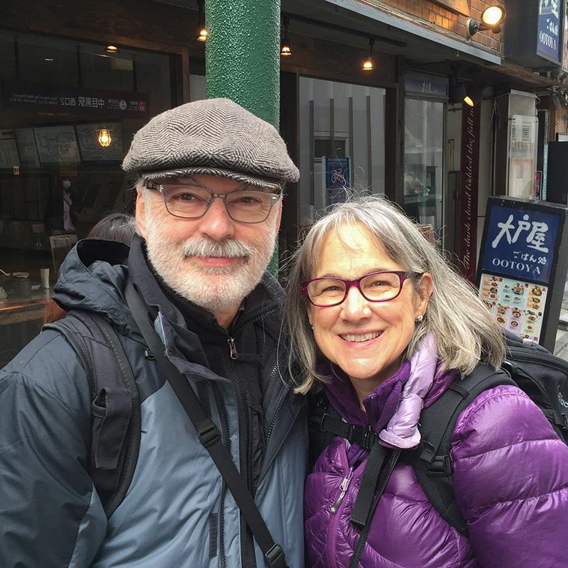 Mark and Jane Banyard